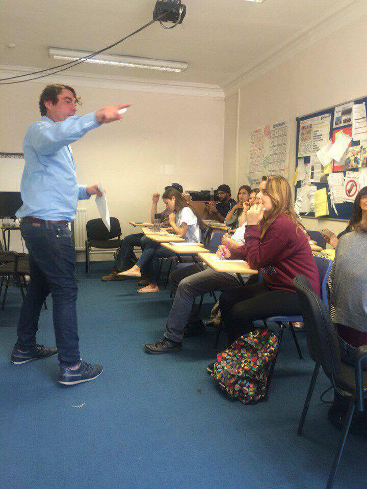 Lesson with Ranald