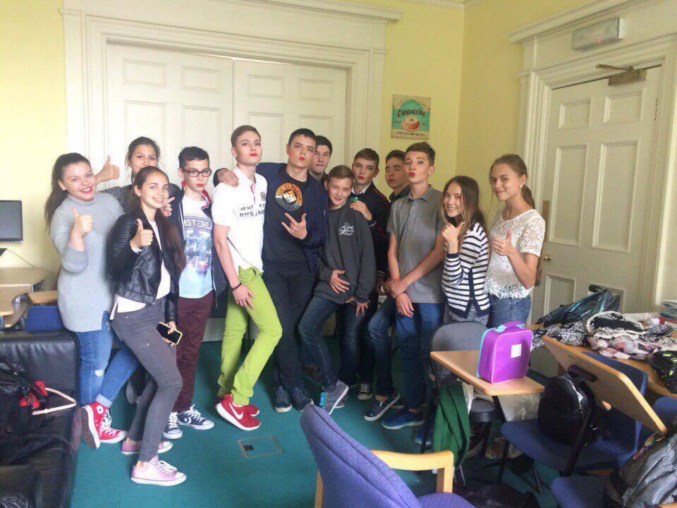 Russian Students at ELA