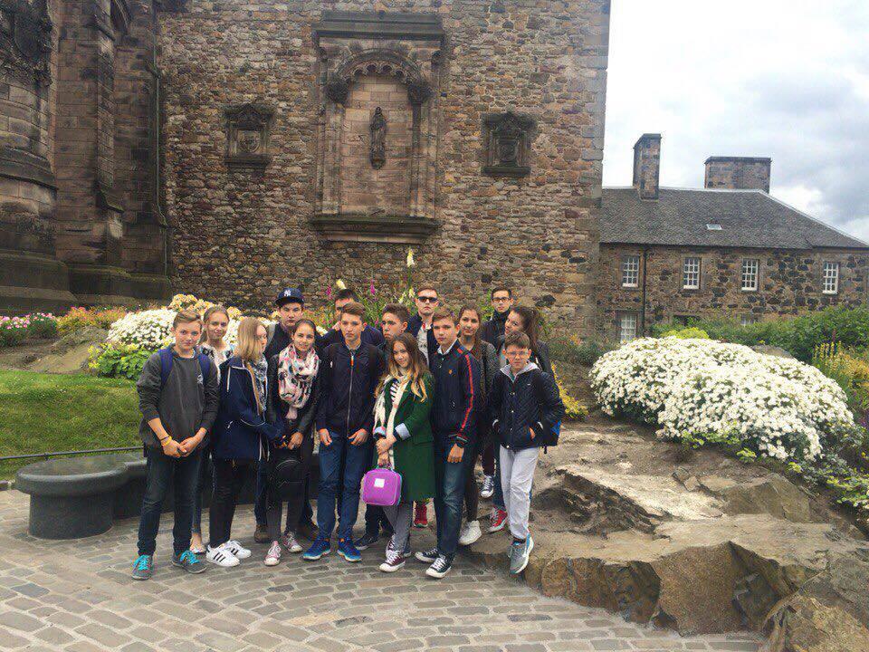 Russians at Edinburgh Castle