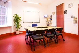 One of our early classrooms in Leith